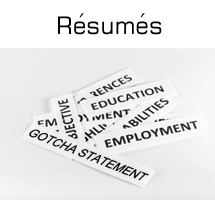 Image of resume keywords